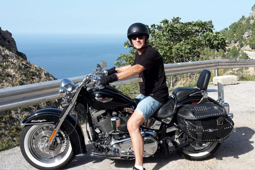 Harley auf Mallorca
