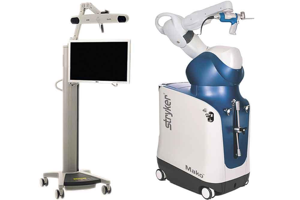 Makoplasty System mit interaktiver Navigations- und Roboter-technologie