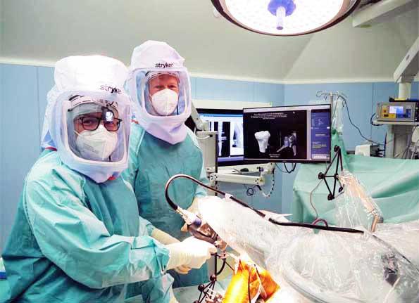 Makoplasty Schlittenprothese