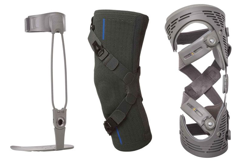 Entlastungsorthesen für Kniegelenke mit unterschiedlichen Funktionsprinzipien
